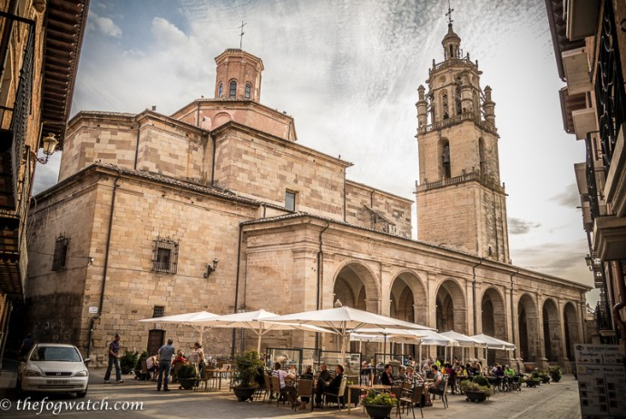 town square Los Arcos