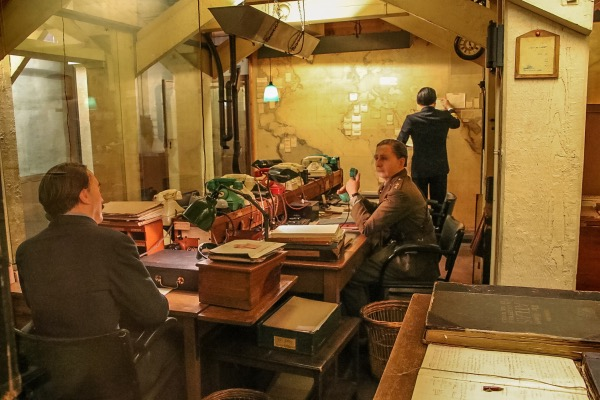 Communications Room - Churchill's War Rooms