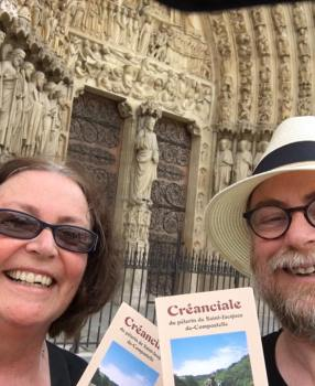 Camino Credential from Notre Dame Paris
