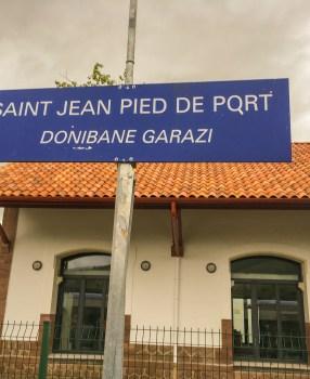 Paris to St Jean Pied de Port