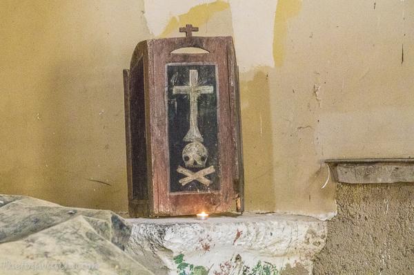 shrine in the Abbey of Eskirotz