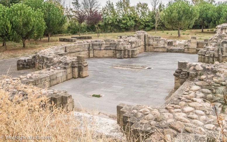 Pilgrim hospital ruin