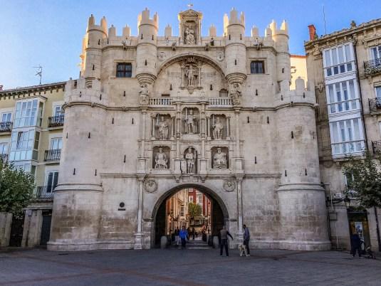 Arch of Santa Maria, Burgos