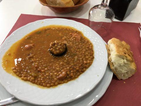 Medieval lentil stew