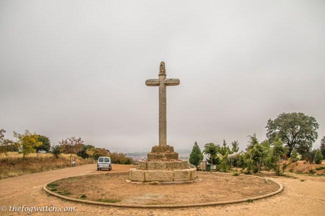 Cross above Astorga