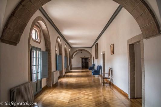 corridor at San Nicolas