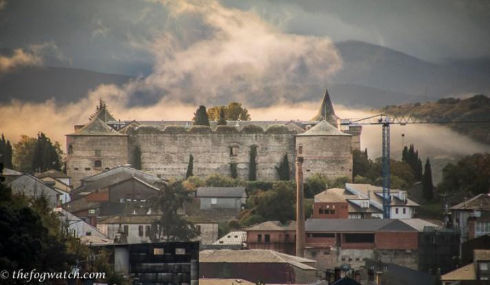Castle at Villafranca del Bierzo