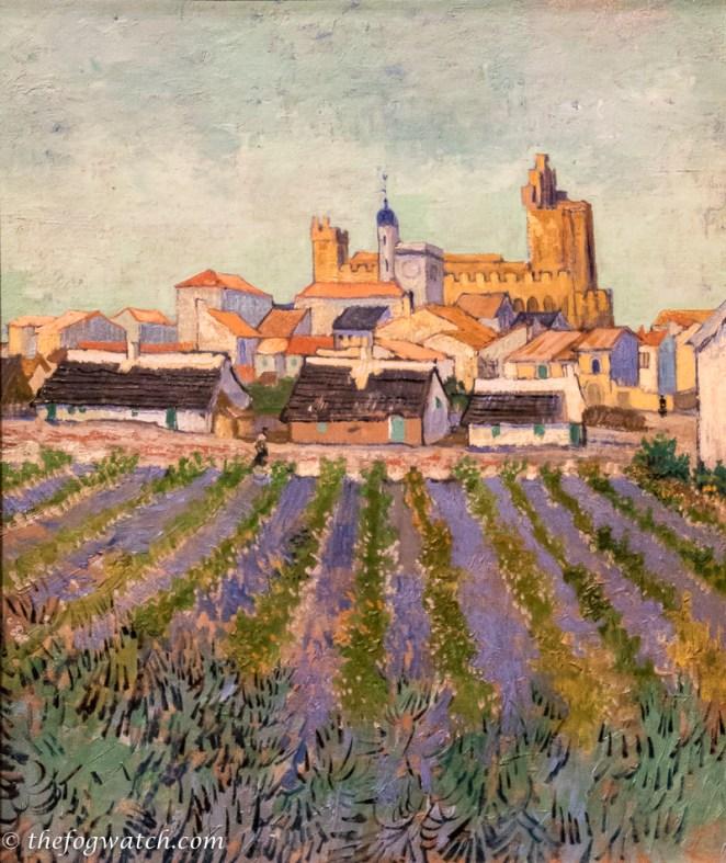 View of Saintes Maries de la mer