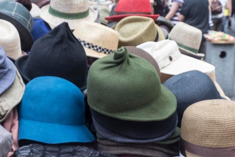 Hat stall, Seoul