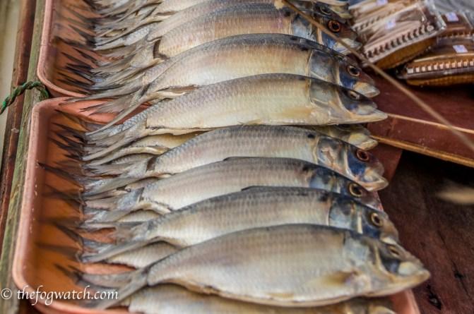 fish market, Kuching