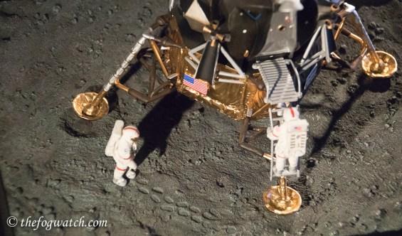 Model of the lunar lander