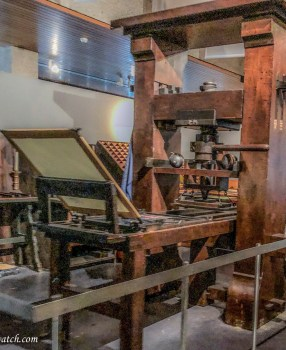 Gutenberg Museum and the Printing Press