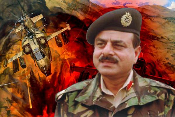 Gen Hameed Gul of Pakistan