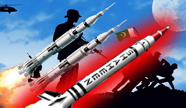 Pakistan's nuclear capable Shaheen 1-A ballistic missile