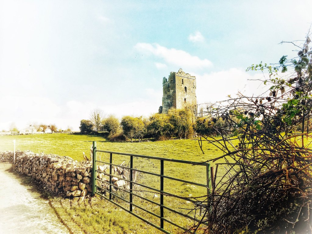 View of Cullohill Castle