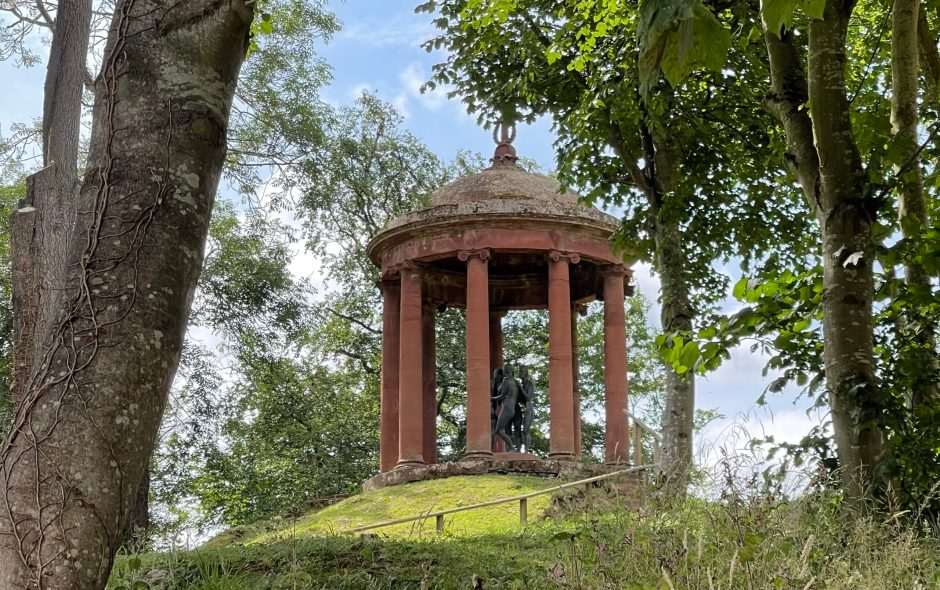 The Temple of the Muses, Dryburgh, Borders.