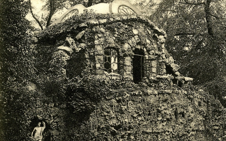 The Grotto and Cottage Orné, Oatlands Park, Surrey, as seen by the novelist Denton Welch