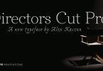 Directors Cut Pro [6 Fonts]