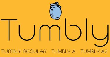 Tumbly [3 Fonts]