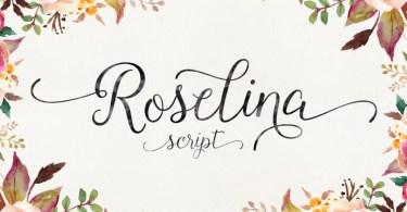 Roselina Script [1 Font]