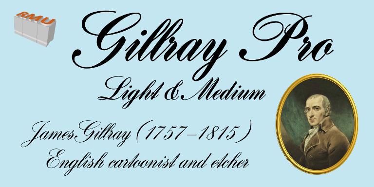 Gillray Pro 2 Fonts The Fonts Master