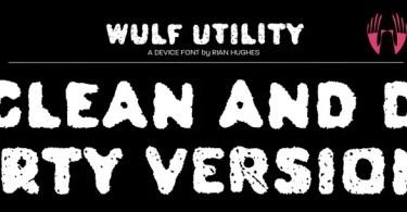 Wulf Utility [2 Fonts]