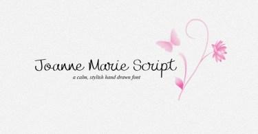 Joanne Marie Script [1 Font]