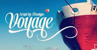Voyage [3 Fonts]