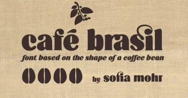 Cafe Brasil [2 Fonts]