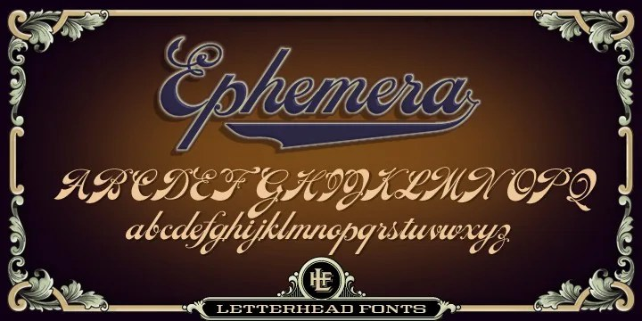 Lhf Ephemera