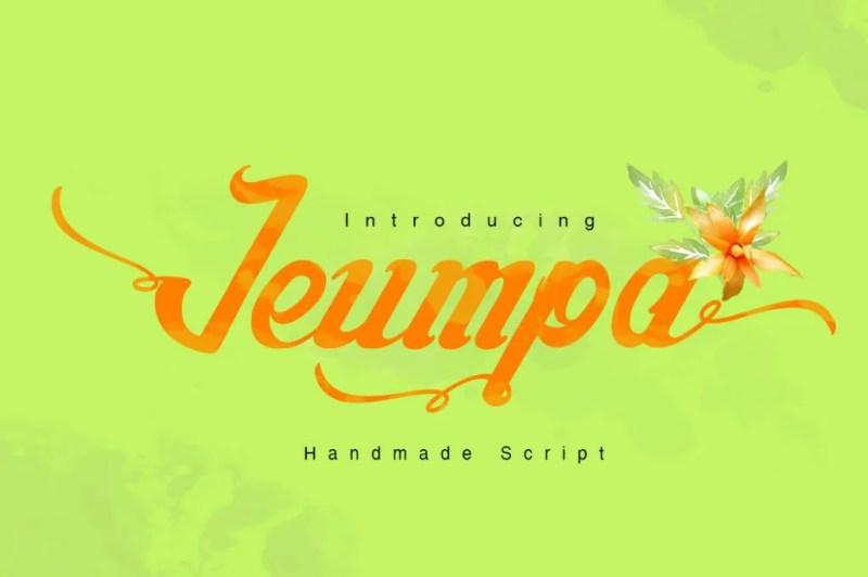 Jeumpa Script