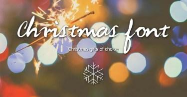 Christmas Font - Handwritten Font [1 Font]