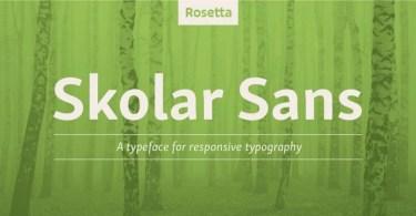 Skolar Sans Pro Super Family [72 Fonts]