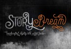 Story Dream [2 Fonts]