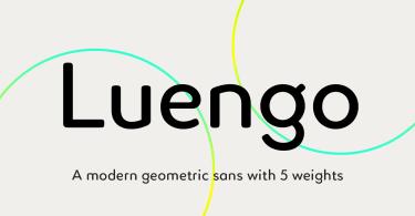 Luengo [5 Fonts]