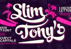 Slim Tony [1 Font]