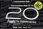 Ink Font Pack 4 [20 Fonts]