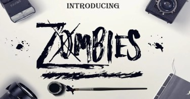 Zombies [1 Font]