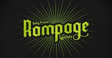 Rampage [1 Font]