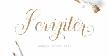 Scripter [1 Font]