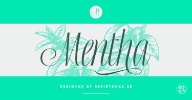 Mentha [2 Fonts]