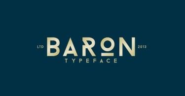 Baron Neue [6 Fonts]