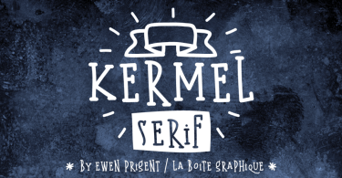 Kermel Serif [2 Fonts]