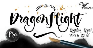 Dragonflight Pro [4 Fonts]