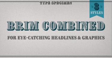 Brim Combined [3 Fonts]
