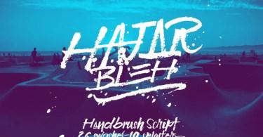 HajarBleh [1 Font + Extras]