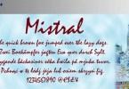 Mistral [1 Font]