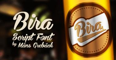 Bira [2 Fonts]