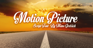 Motion Picture [1 Font]