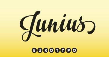 Junius [1 Font]
